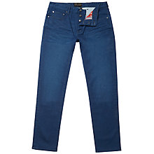 Buy Ted Baker Sayer Straight Jeans, Mid Blue Online at johnlewis.com