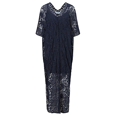 Sybil Cotton Crochet Maxi Dress