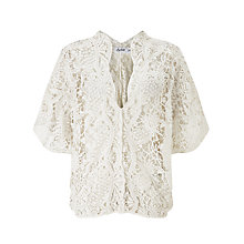 Buy Sybil Cotton Crochet Top Online at johnlewis.com