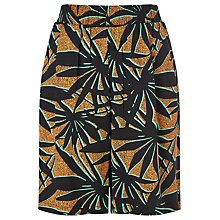 Buy Numph Honuka Tropical Print Shorts, Cadmium Yellow Online at johnlewis.com