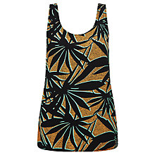 Buy Numph Koji Tropical Print Tank Top, Cadmium Yellow Online at johnlewis.com