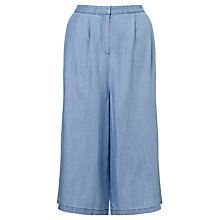 Buy Minimum Margreta Culottes, Light Blue Online at johnlewis.com