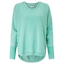 Buy Numph New Nicola Sweatshirt, Pool Blue Online at johnlewis.com