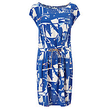 Buy Numph Usagi Printed Dress, True Blue Online at johnlewis.com