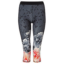 Buy Ted Baker Fitssa Monorose Cropped Sports Leggings, Multi Online at johnlewis.com