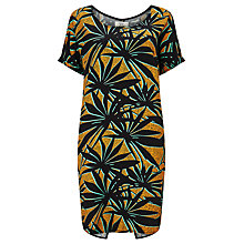 Buy Numph Umi Tropical Print Dress, Cadmium Yellow Online at johnlewis.com