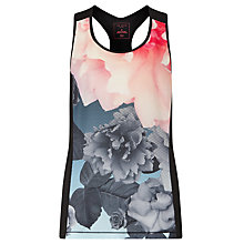 Buy Ted Baker Raceer Monorose Contrast Sports Vest, Multi Online at johnlewis.com