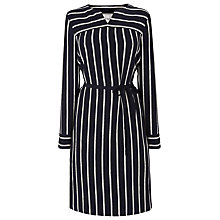 Buy L.K. Bennett Mabel Striped Shirt Dress, Multi Blue Online at johnlewis.com