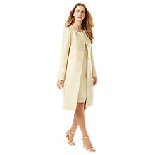 Buy Phase Eight No.8 Four Occasion Coat, Cream Online at johnlewis.com