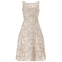 Buy Phase Eight No.8 Tapework Ten Dress, Champagne Online at johnlewis.com