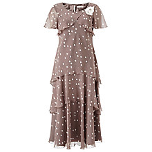Buy Jacques Vert Brushstroke Spot Dress Online at johnlewis.com