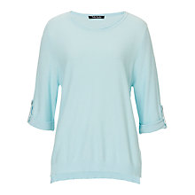 Buy Betty Barclay Cotton Blend Waffled Top, Light Mint Online at johnlewis.com