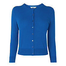 Buy L.K. Bennett Bibi Cardigan, Blue Online at johnlewis.com