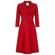 Buy Phase Eight No.8 Textured Eight Dress, Red Online at johnlewis.com