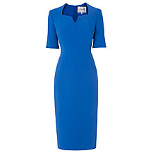 Buy L.K. Bennett Sam Tailored Dress, Blue Online at johnlewis.com