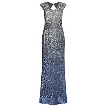 Buy Phase Eight Collection 8 Charlie Sequin Maxi Dress, Silver/Blue Online at johnlewis.com