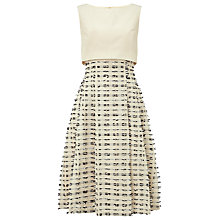 Buy Phase Eight Limited Edition Dress Seven, Ivory/Black Online at johnlewis.com