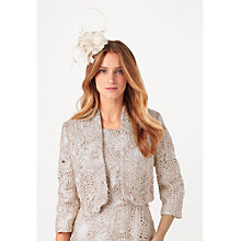 Buy Phase Eight No.8 Tapework Ten Jacket, Champagne Online at johnlewis.com