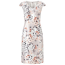 Buy Jacques Vert Enchanted Blossom Dress, Mid Neutral Online at johnlewis.com