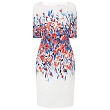 Buy L.K. Bennett Floral Event Dress, Multi Online at johnlewis.com