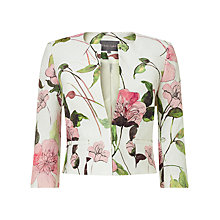 Buy Phase Eight Lizzy Floral Jacket, Multi Online at johnlewis.com