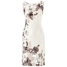 Buy Jacques Vert Flower Placement Dress, Cream/Multi Online at johnlewis.com