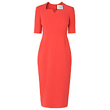 Buy L.K. Bennett Sam Tailored Dress, Red Online at johnlewis.com
