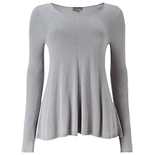 Buy Phase Eight Cali-Anne Plain Knit Top, Silver Grey Online at johnlewis.com