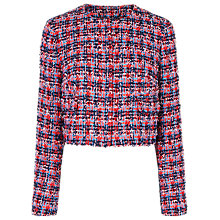 Buy L.K. Bennett Echo Colour Tweed Jacket, Multi Online at johnlewis.com