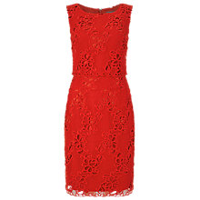 Buy Phase Eight Rebecca Lace Dress, Tomato Online at johnlewis.com