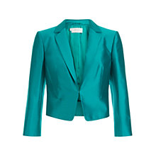 Buy Hobbs Livia Jacket, Peacock Online at johnlewis.com