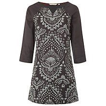 Buy White Stuff Bloomsbury Tunic Dress, Dark Grey Online at johnlewis.com