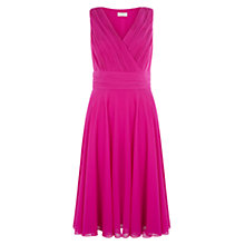 Buy Hobbs Jacqueline Dress, Orchid Pink Online at johnlewis.com