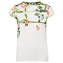 Buy Ted Baker Dafnee Secret Trellis T-Shirt Online at johnlewis.com
