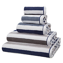 Buy John Lewis Portland Stripe Towels Online at johnlewis.com