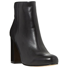 Buy Dune Oxbury Block Heeled Ankle Boots Online at johnlewis.com