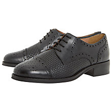 Buy Dune Finchly Block Heeled Lace Up Brogues Online at johnlewis.com