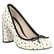 Buy Clarks Idamarie Faye Block Heeled Court Shoes Online at johnlewis.com