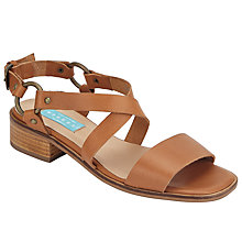 Buy Collection WEEKEND by John Lewis Loiret Rivet Sandals, Light Brown Online at johnlewis.com