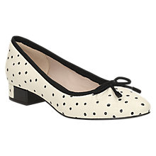 Buy Clarks Eliberry Isla Block Heeled Court Shoes Online at johnlewis.com