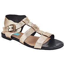 Buy Collection WEEKEND by John Lewis Loire Sandals, Gold Online at johnlewis.com