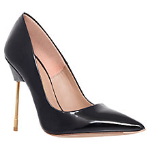 Buy Kurt Geiger Britton Court Shoes, Black Patent Online at johnlewis.com