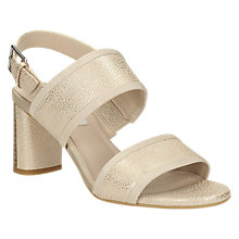 Buy Clarks Amalia Ava Block Heeled Sandals Online at johnlewis.com