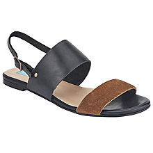 Buy Collection WEEKEND by John Lewis Lule Sandals, Black/Brown Online at johnlewis.com