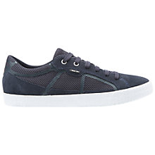 Buy Geox Smart Suede Trainers, Navy Online at johnlewis.com