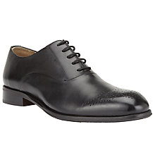 Buy John Lewis McAuliffe Oxford Brogues, Black Online at johnlewis.com