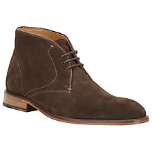 Buy John Lewis Chumbley Chukka Boots, Chocolate Online at johnlewis.com