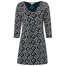 Buy White Stuff Nomad Jersey Tunic Top, Nepalese Blue Online at johnlewis.com