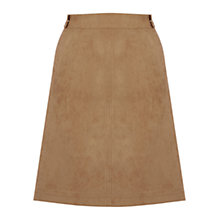 Buy Oasis Suedette Tab Detail Skirt Online at johnlewis.com