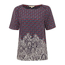 Buy White Stuff Transitional Top, Purple Online at johnlewis.com